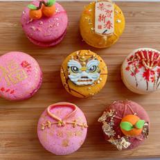 Chinese New Year Macaron