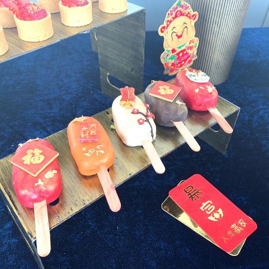 Chinese Year Cake Pop