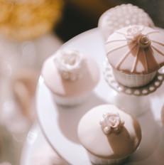 Elegant Fondant Cupcake