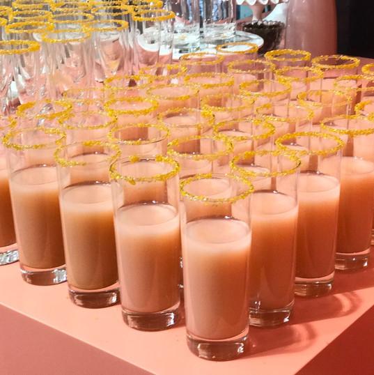 Pink Peach Drink