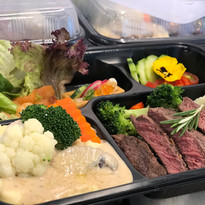 Beef Steak Lunch Box
