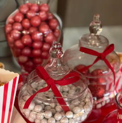 Red & White Candies