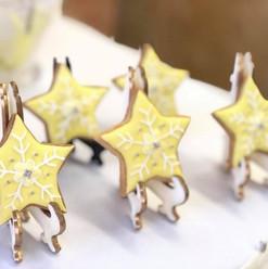 Yellow Star Cookies
