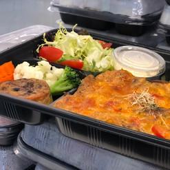 vegetarian lunch box