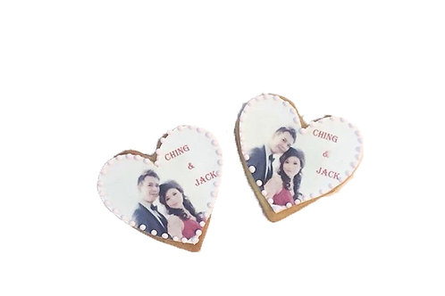 Customised photo cookies