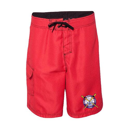 WBP Alumni Red Board Shorts