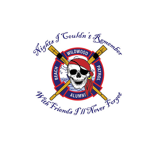 WBP Alumni - Dead Head Sticker