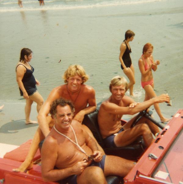 Cap & Joe Kelly on Red Jeep 1971 600