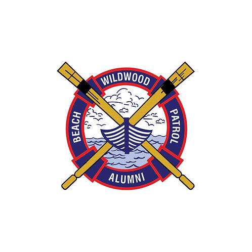 WBP Alumni Sticker - Wildwood Beach Patrol