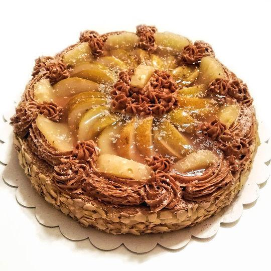 dort bez lepku čoko-kávový