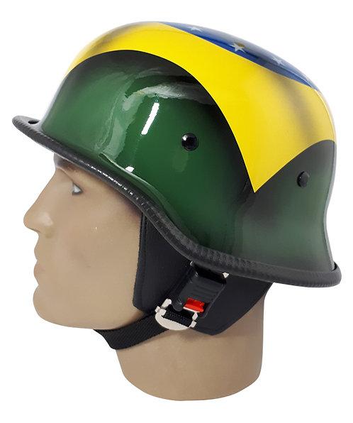 Capacete Custom M34 - Bandeira Brasil - M34099
