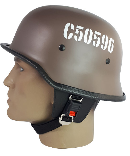 Capacete Custom M34 - Royal Enfield Marrom - M34103