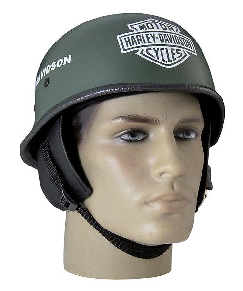 Capacete Custom M34 - Verde Oliva + Bar&Shlield Br - M34C041