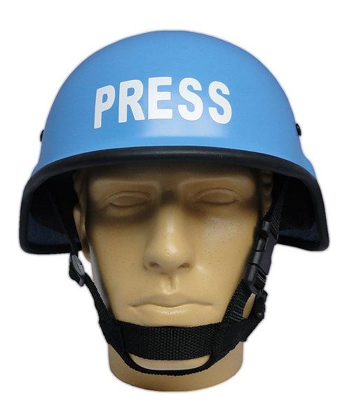Capacete Tático Segurança - M88 Azul PRESS