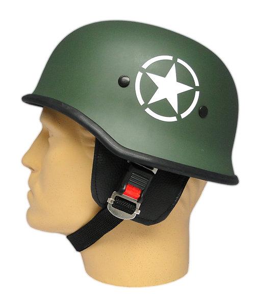Capacete Custom M34 - Verde Estrela & Army - M34C087