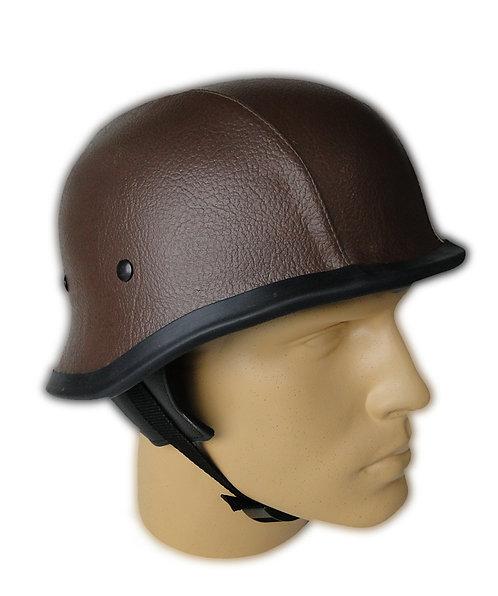 Capacete Custom M34 - Couro Marrom - M34C009