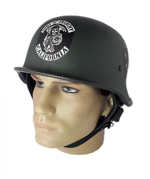 Capacete Custom M34 - Verde Sons Of Anarchy - M34029