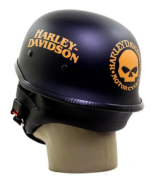 Capacete Custom M34 - Preto Out+Skull+Hd T Lr PROT - M34C076