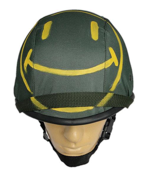 Capacete Tático de Guerra M1 BR - Com Capa Smile