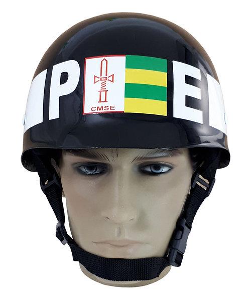Capacete M1 BR Batalhão de Polícia do Exército - Preto