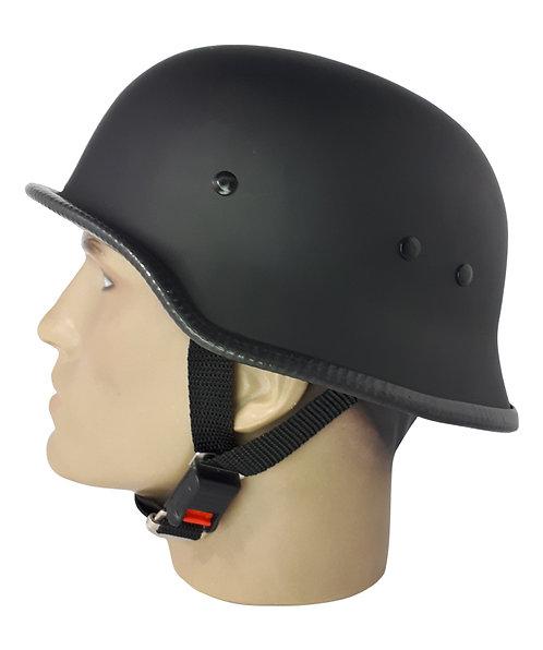 Capacete Custom M34 - Preto com Cinta em V - M34032