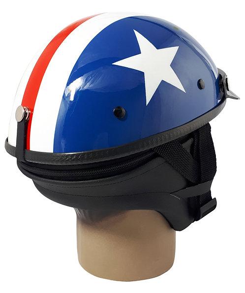 Capacete Custom Classic Capitão America CCC076