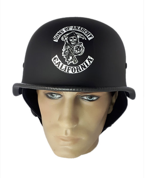 Capacete Custom M34 - Preto Sons Of Anarchy - M34030