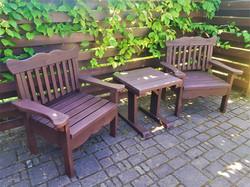 Комплект садовой мебели для кофейной