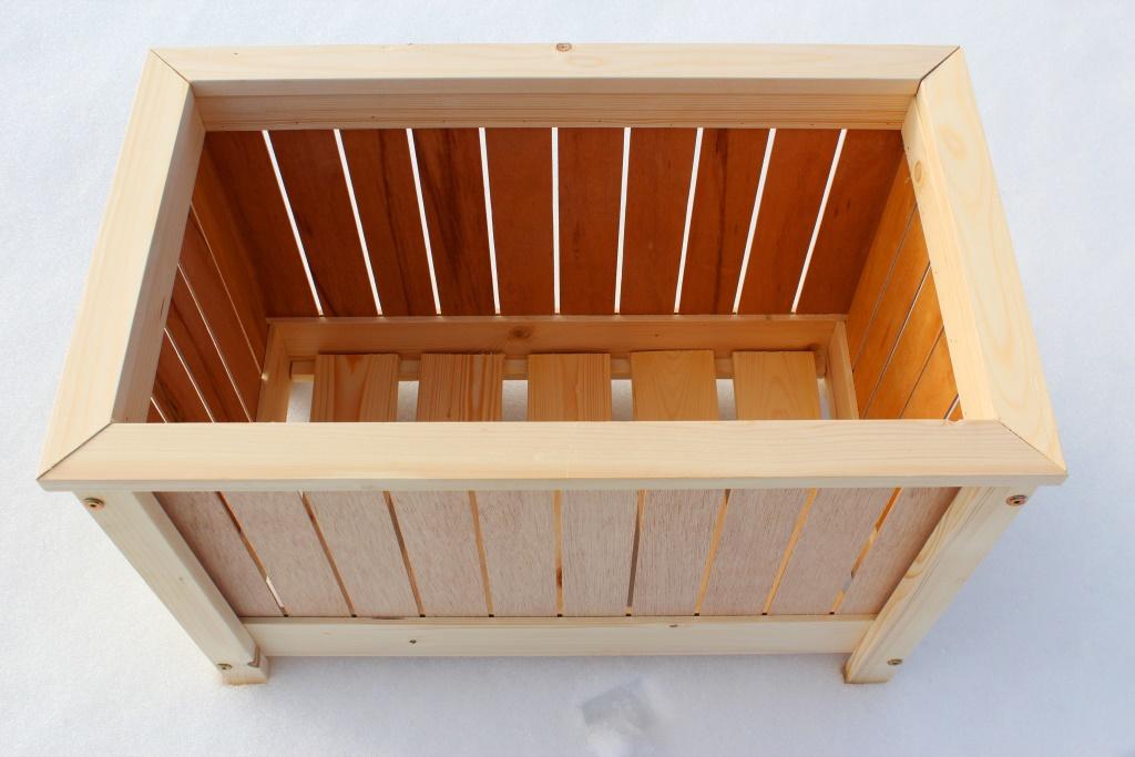 Koka puķu kastes