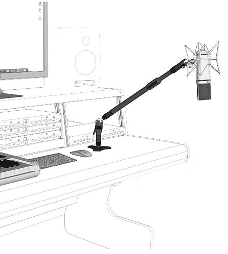 Triad Orbit Desk Mount System