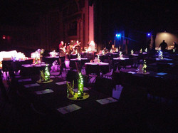Table Decor for Winesday the Musical