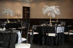 NYE Wedding: Black, White, and Gold
