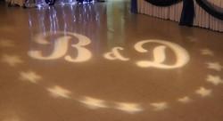 """Wedding: """"Lit-Up, Logoed, Distilled"""""""