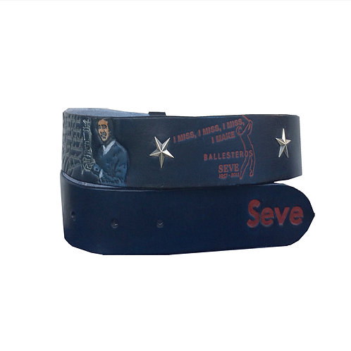 Seve Ballesteros 4cm blue belt