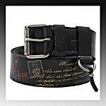 Dukes Garibaldi belt, Gürtel, handpainted, handbemalt