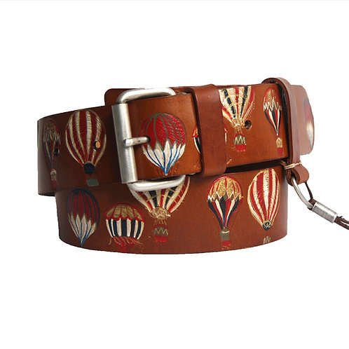 Balloons colorful middlebrown belt