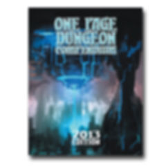 Shattered Pike Studio Presents the 2013 One Page Dungeon Contest Compendium.