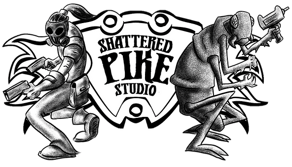 Shattered Pike Studio Logo