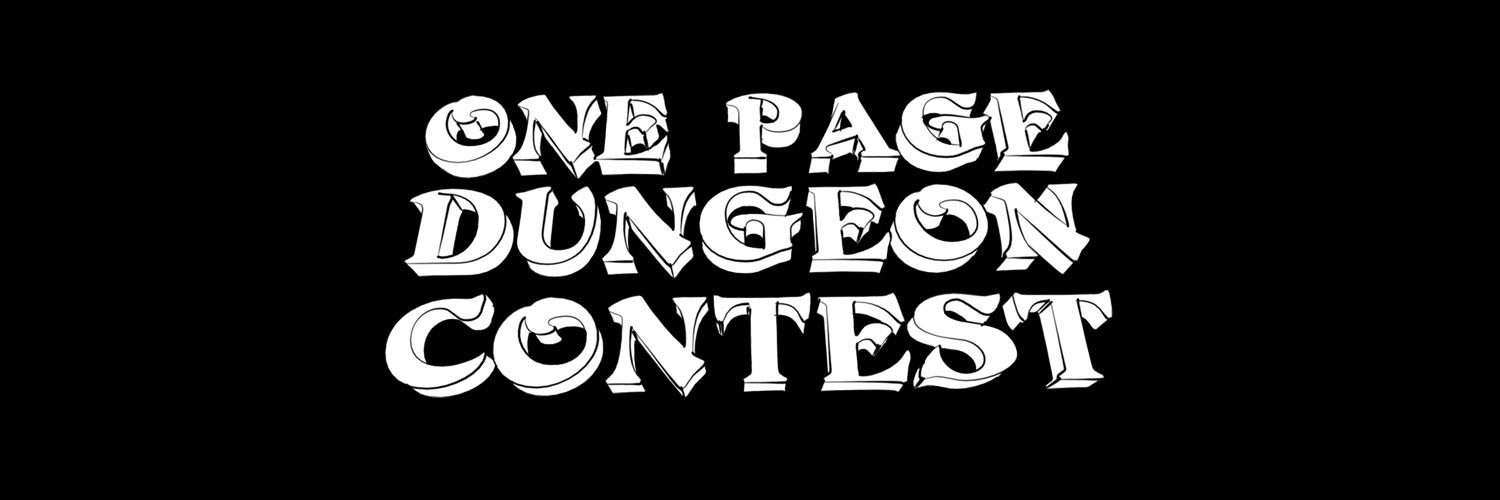 Dungeon Contest Com: Home of the One Page Dungeon Contest