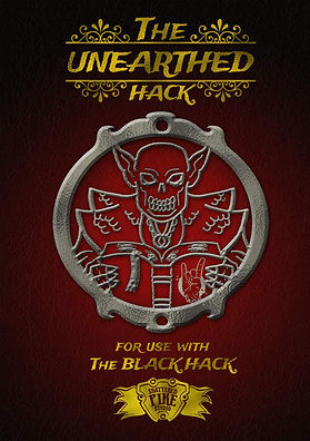 Shattered Pike Studio Role Playing Games presents The Unearthed Hack.