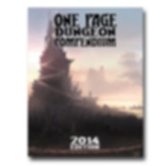 Shattered Pike Studio Role Playing Games presents the 2014 One Page Dungeon Contest Compendium.