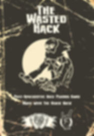 Shattered Pike Studio Role Playing Games presents The Wasted Hack.