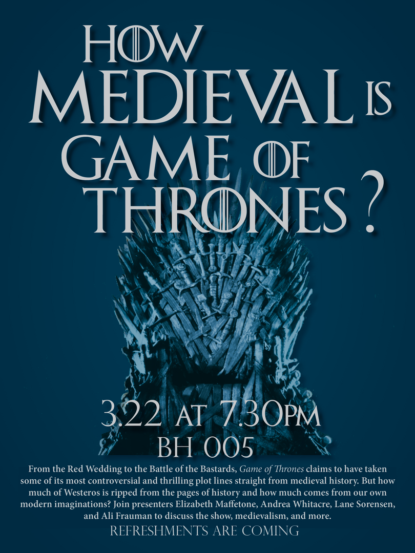 Game of Thrones Panel Flyer
