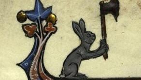 Killer Rabbits: the Topsy-Turvy World of Medieval Manuscripts
