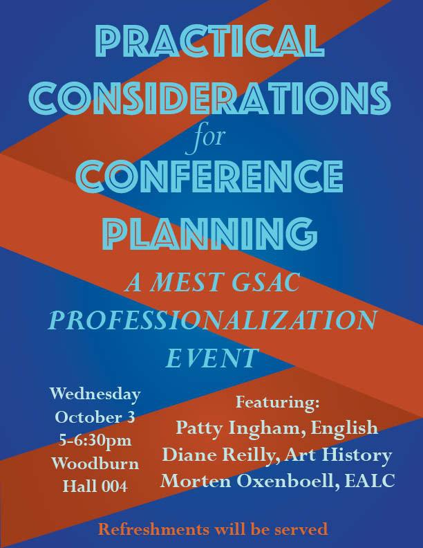 MEST GSAC Fall 2018 Event
