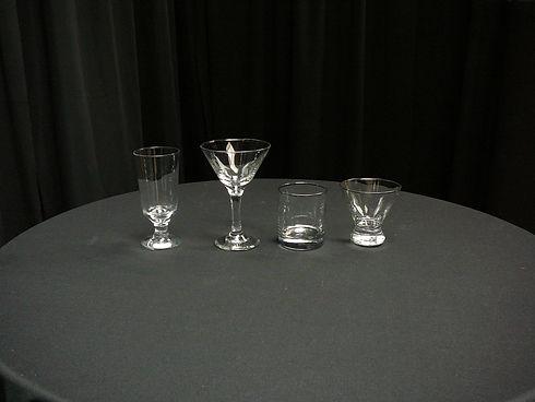 hiball, martini, old fashioned, cosmo 2.