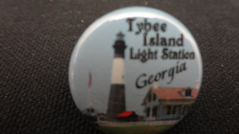 Tybee Light Station Hat Pin