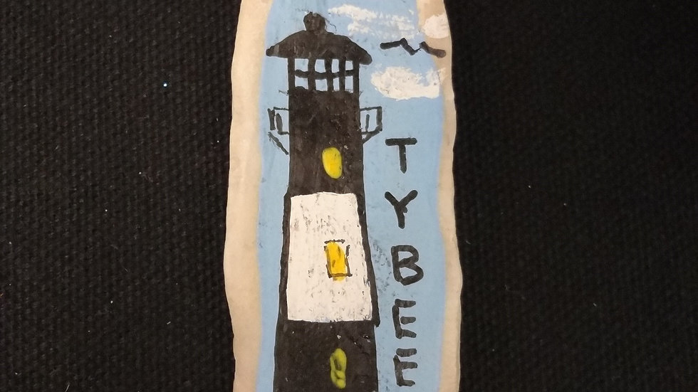 Tybee Lighthouse Oyster Magnet