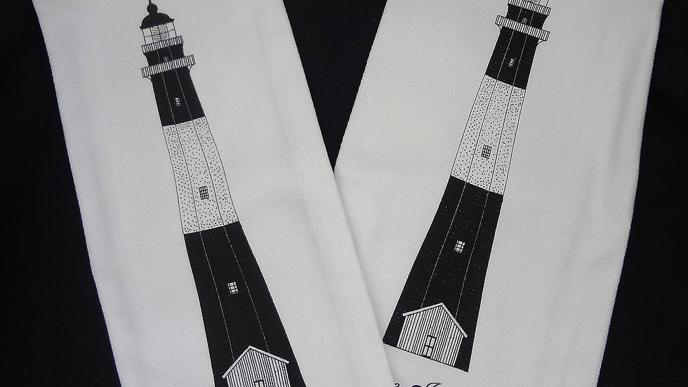 Tybee Lighthouse Dish Towel