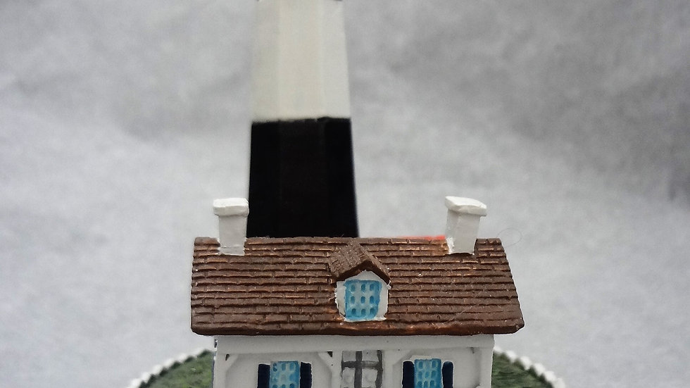 "5"" Charles Product Resin Tybee Lighthouse Figurine"